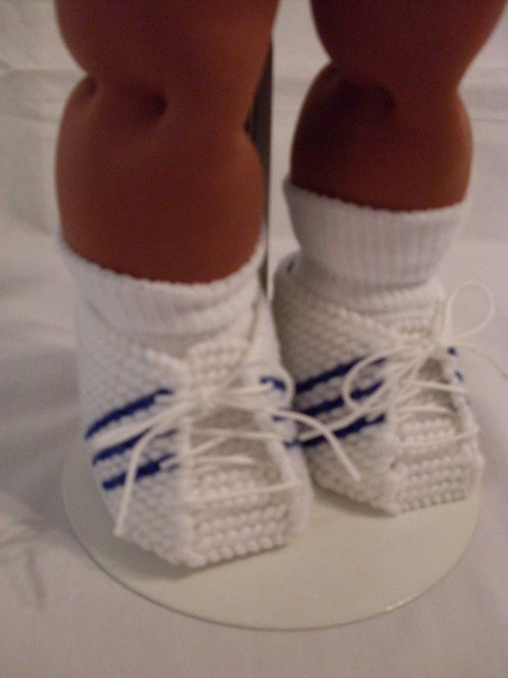 16 Boy Cabbage Patch Blue And White Tennis By Scdollyboutique