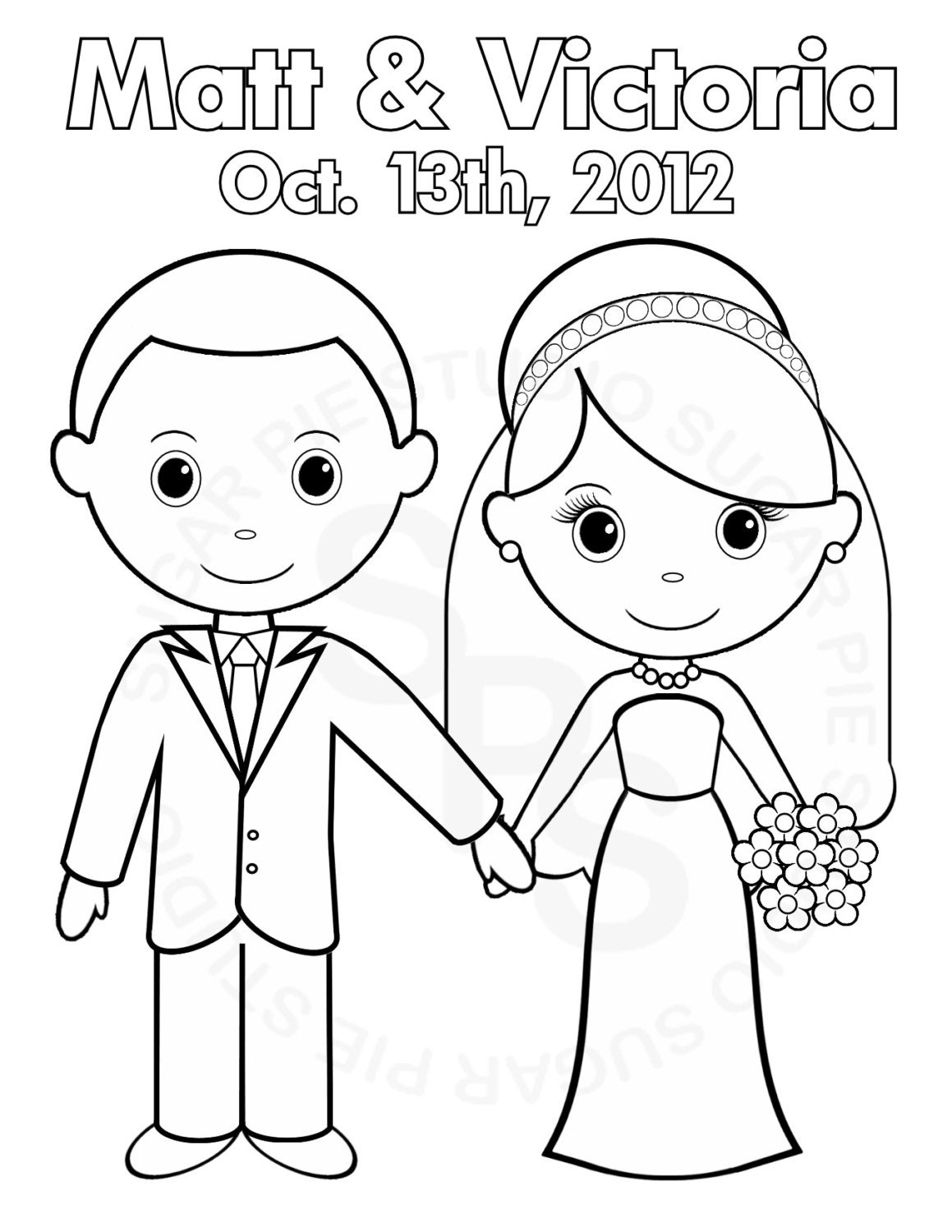personalized coloring pages - photo#22