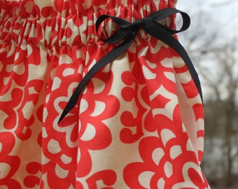 Girl's designer skirt in Swedish/Scandinavian design by Lingonberry Latitude - Ready to ship in 9mo, 4T and 5T