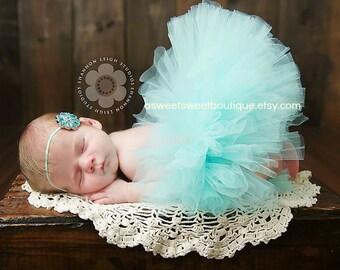 Sweet And Simple Tutu Set Newborn Tutu Set Vintage Gem Tutu Set Baby Tutu Set