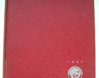 Vintage Yearbook - Northfield Seminary, STAR 1942. East Northfield Massachusetts. Memory Lane Keepsake
