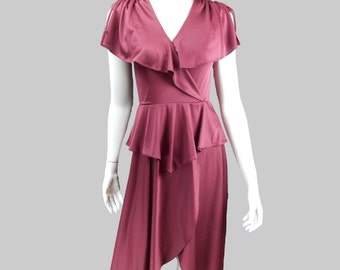 Maroon Dress - Free US Shipping