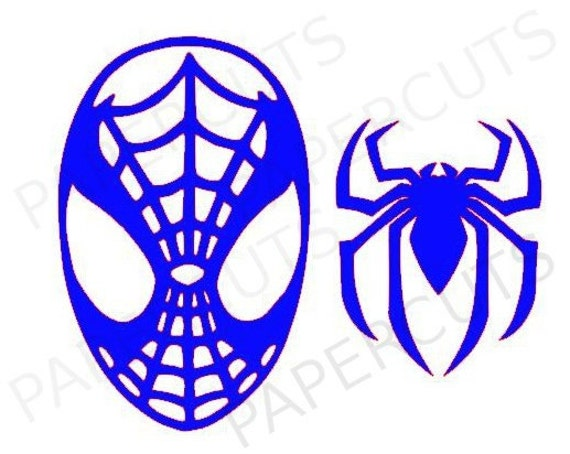 The gallery for --> Spiderman Mask Silhouette