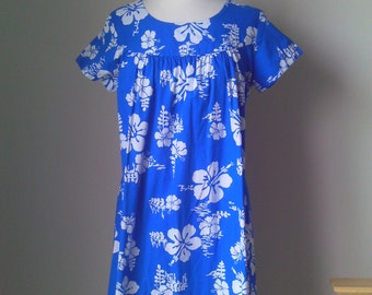 60s Ui Maikai Hawaiian Dress
