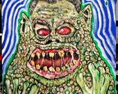 Chet Weird Science monster 11x14 print
