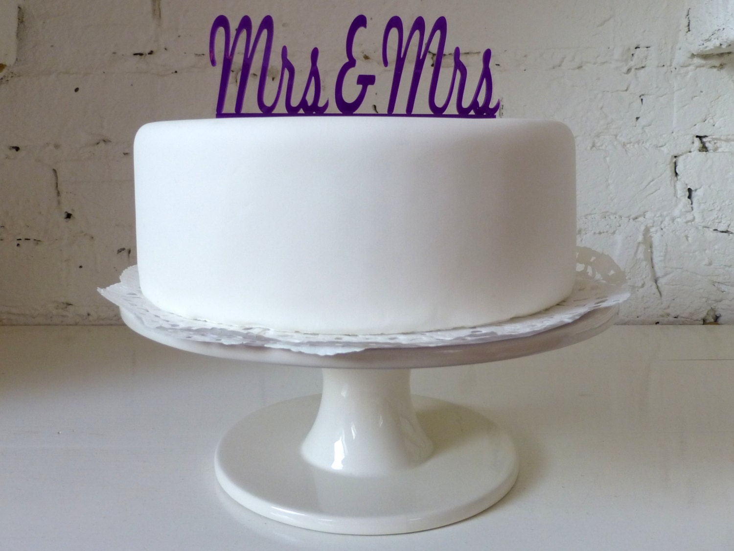 Wedding Cake Ideas For Gay Wedding : Mrs & Mrs Civil Partnership / Lesbian Wedding by MissSarahCake