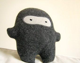 Bambak Ninja, soft toy, geek toy, soft plushie, kawaii gift, best friend, boyfriend gift, cute creature, husband gift, personalized kids