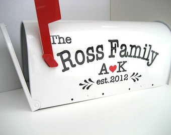Custom Wedding Card Mailbox