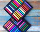 Super Set Hair Chalks 48 Assorted Colors. Hair Chalking 48 Colors Set. Temporary Hair Chalking Dye, Fashion Colors without Commitment