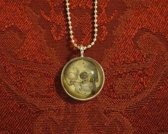 Skull Pendant, antique image