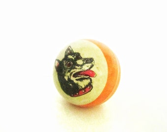 Cute vintage rubber BALL. Use it for mixed media art, photography projects, or company.