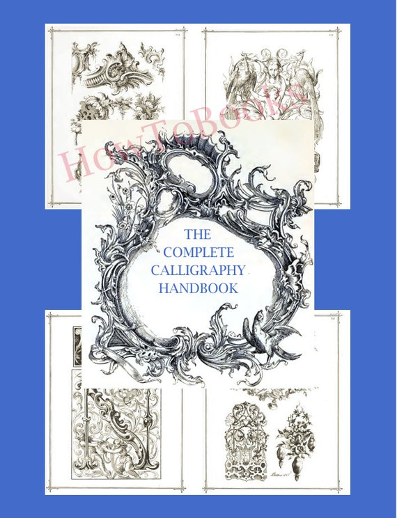 The Complete Calligraphy Handbook On Ornamental By Howtobooks