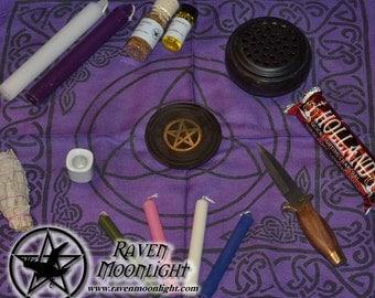 Altar Set: Basic Wiccan Altar