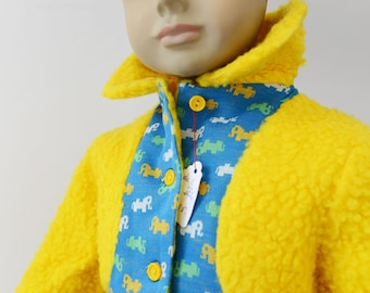 Awesome 70s winter jacket for a little child - UNWORN