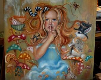 Custom Portrait Painting 24x24