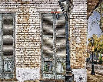 New Orleans French Quarter Door Series - Available Sizes (5x7) (8x12) (12x18) (16x24) (24x36)