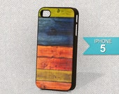 iPhone 5 Hard Plastic Wood Design Case FREE SHIPPING in US