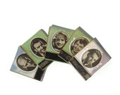 Movie Star Matches - 1937 Matchbooks - set of five