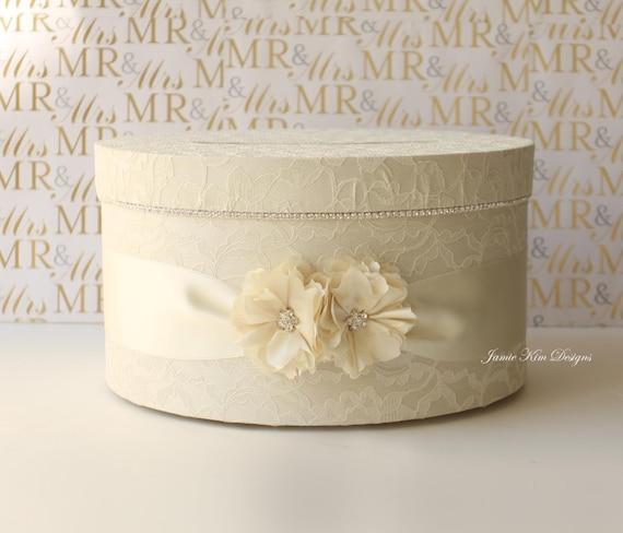 Elegant Wedding Card Box Money Box Card Holder Custom Made to – Elegant Wedding Card Boxes
