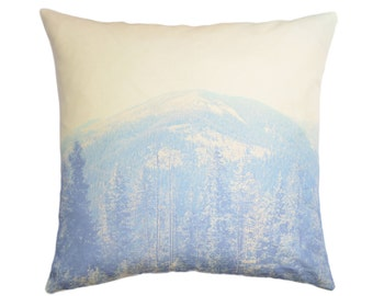 Through The Tress Photography Pillow Cover