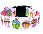 "Birthday Dog Collar 1.5"" Large Dog Collar"