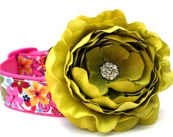 Dog Collar Flower Add-On for Your Custom Dog Collar