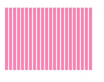 15 strips of  straight nail decals - Vinyl Wall Art