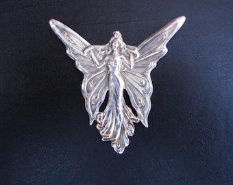 Nouveau Fairy Brooch