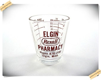 Rexall Measuring Glass