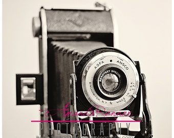 Fine Art Photography - 20x30 Canvas Gallery Wrap - Agfa Vintage Camera
