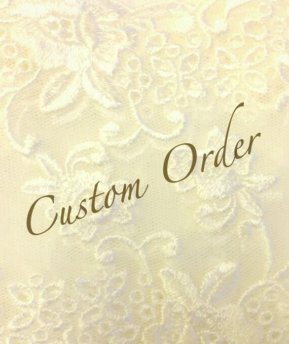 Custom Order for April, ( 2 ) Burlap Hair Flowers, Weddings, Accessories,  MADE TO ORDER