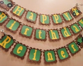 John Deere Inspired Happy Birthday Sign