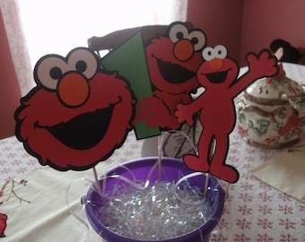 Cute Elmo Party Centerpiece