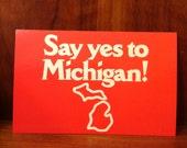 Vintage Michigan Postcard