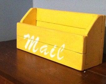 Mail Organizer - Rustic & Handmade