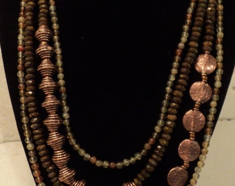 Copper Everywhere Necklace