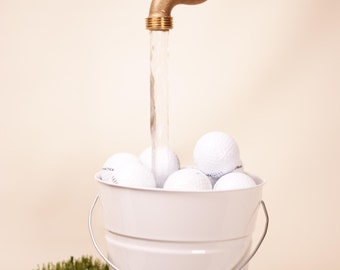 Golf Ball Tabletop Floating Faucet Fountain