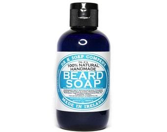 Beard Shampoo, Beard Wash, All Natural and Handmade in Ireland