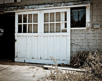 Barn Door French Country Grey Gray White Cows Farmhouse Decor Rustic Warm  Simple Style Farm Country