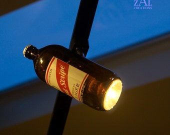 Track light, Beer bottle, Track head.