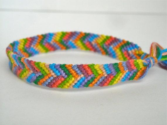 Stitch Friendship Bracelet Friendship Bracelet Bright