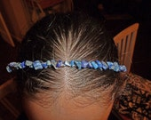 Handcrafted Sodalite Wire Wrapped Headband