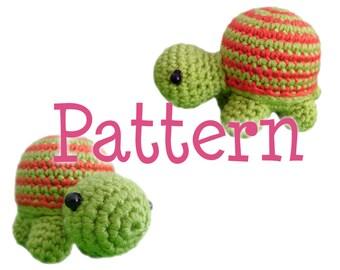Crochet Amigurumi Turtle Pattern