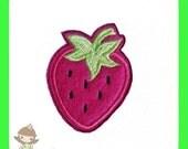 Strawberry feltie design