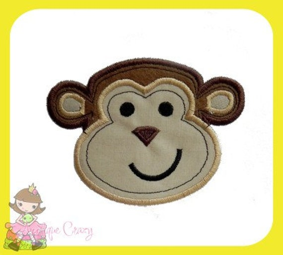 Monkey Applique design