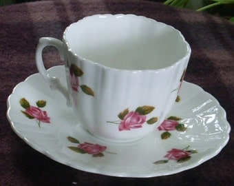 Hammersley Tea Cup and Saucer