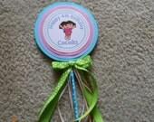 Dora Centerpiece-Dora Cake Topper-Dora Birthday Decoration-Dora the Explorer Decoration-Dora Birthday Party Decoration-Dora the Explorer