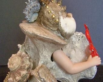 Assemblage art doll- Atarah