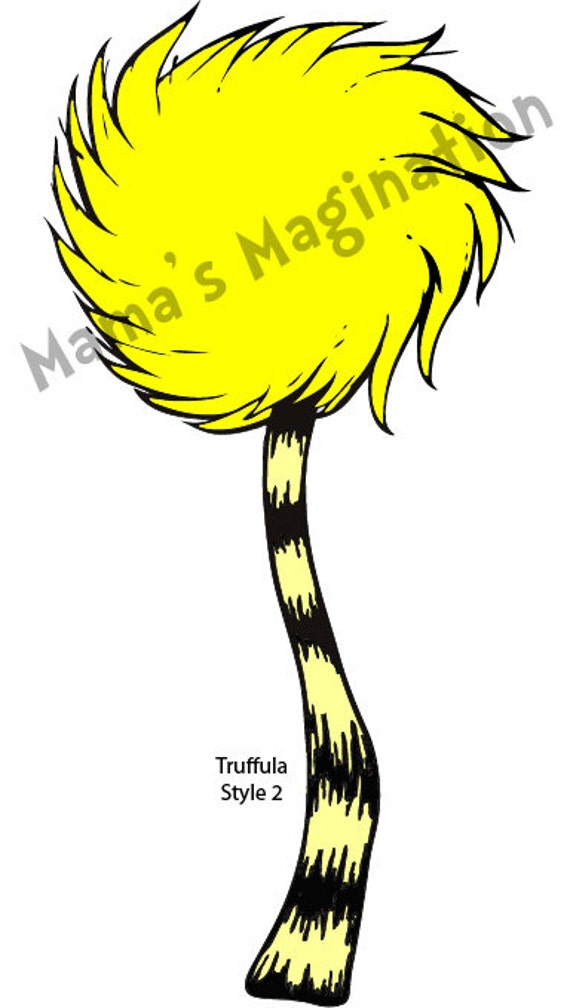Items similar to Dr. Seuss Inspired Lorax Truffula Tree ...