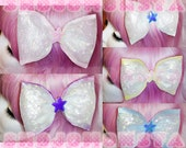 Large Iridescent Pastel Bow // Choose From 5 Different Colors